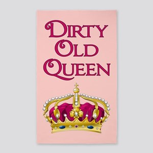 DIRTY OLD QUEEN Area Rug