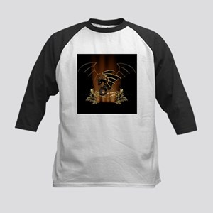 Awesome dragon in gold and black Baseball Jersey