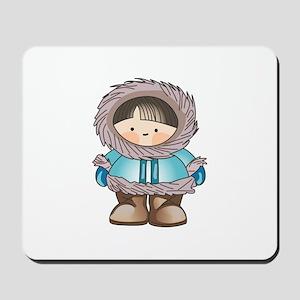 ESKIMO BOY Mousepad