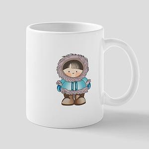 ESKIMO BOY Mugs