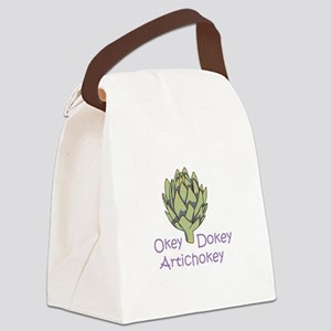 OKEY DOKEY ARTICHOKEY Canvas Lunch Bag