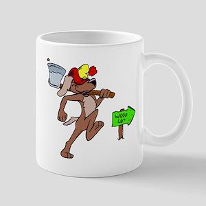 Dog Lumberjack Mugs