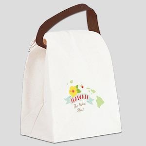 Hawaii Aloha Canvas Lunch Bag