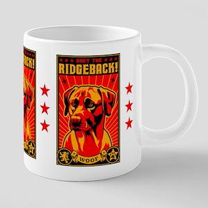 Rhodesian RIDGEBACK! propaganda Mugs