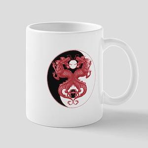 Yin Yang Dragons 3 Mug