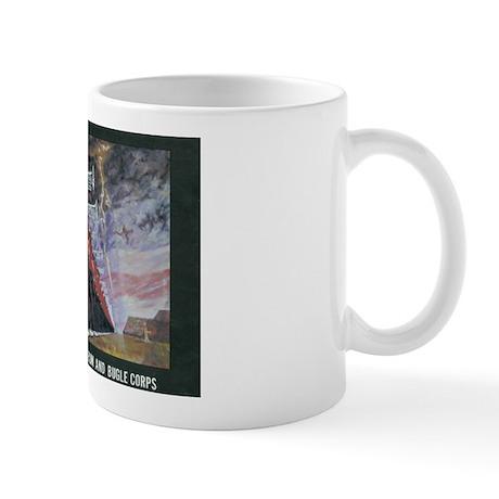 Portrait in Brass Logo Mug