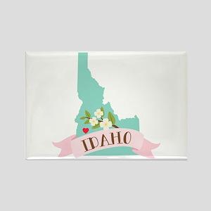Idaho Flower Syringa Magnets