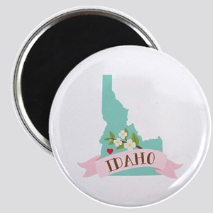 Idaho Flower Syringa Magnets