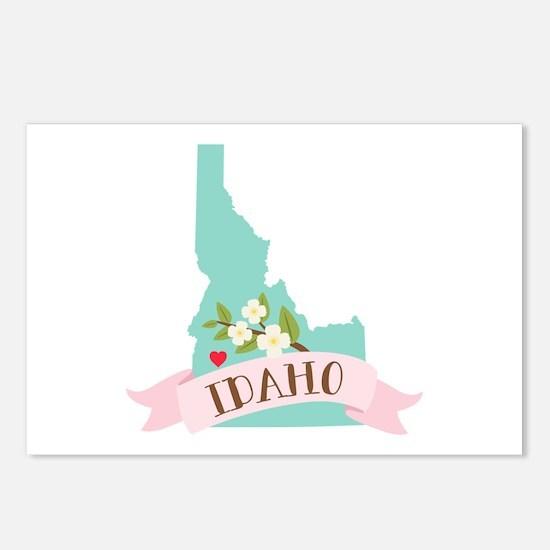 Idaho Flower Syringa Postcards (Package of 8)