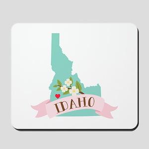Idaho Flower Syringa Mousepad
