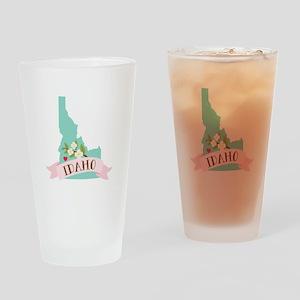Idaho Flower Syringa Drinking Glass
