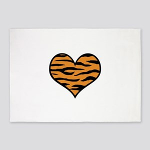 TIGER HEART 5'x7'Area Rug