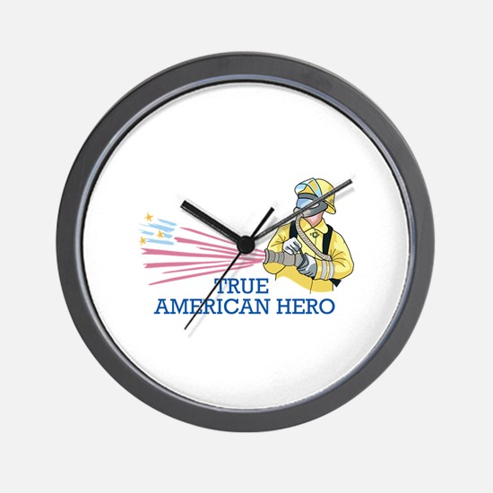 TRUE AMERICAN HERO Wall Clock