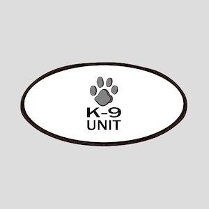 K-9 UNIT Patches