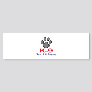 K-9 UNIT Bumper Sticker