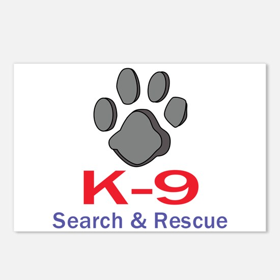 K-9 UNIT Postcards (Package of 8)
