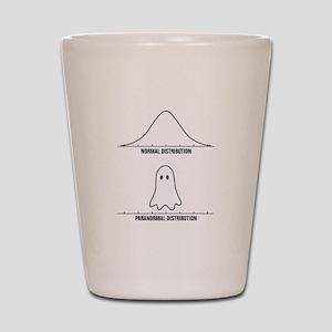 Normal vs Paranormal Distribution Shot Glass