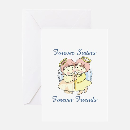 FOREVER SISTERS Greeting Cards