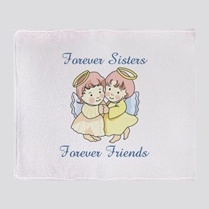 FOREVER SISTERS Throw Blanket