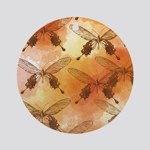 Butterfly Fields Ornament (Round)