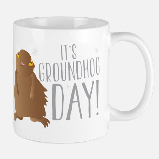 It's GROUNDHOG day! Mugs