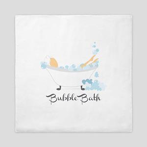 Bubble Bath Queen Duvet
