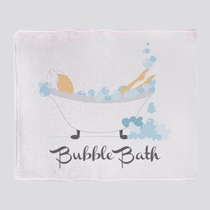 Bubble Bath Throw Blanket