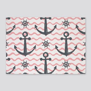 Anchors 5'x7'Area Rug