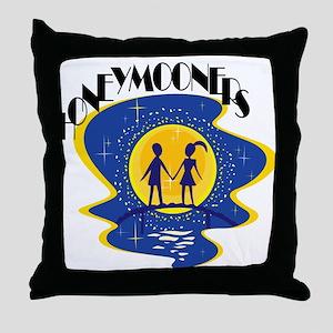 Honeymooners Throw Pillow