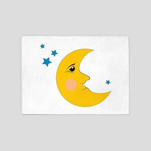Moon & Stars 5'x7'Area Rug