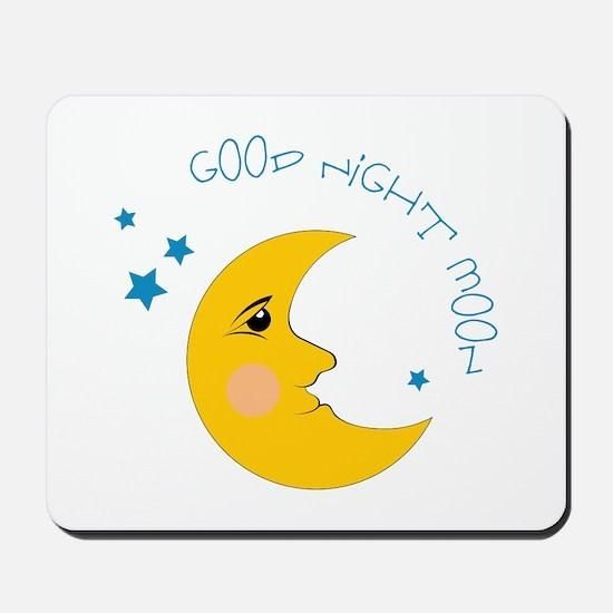 Good Night Moon Mousepad