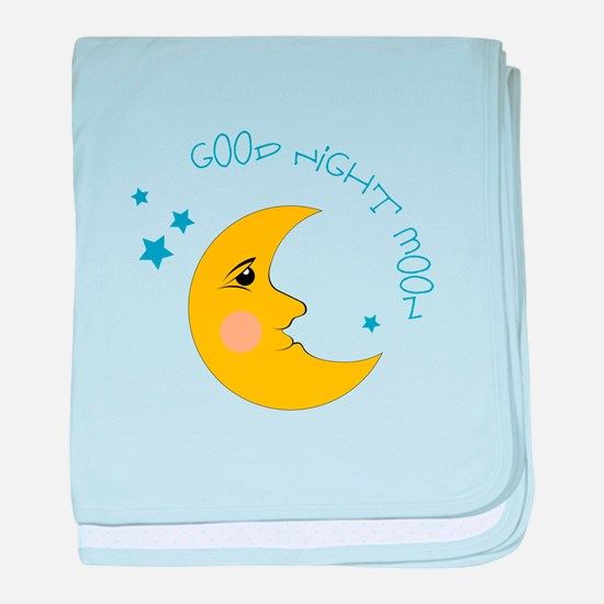 Good Night Moon baby blanket