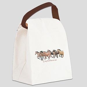 every herd has an ass Canvas Lunch Bag