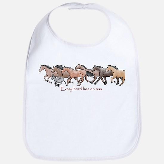 every herd has an ass Bib
