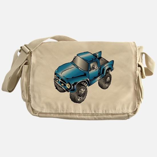 Cute Monster trucks Messenger Bag