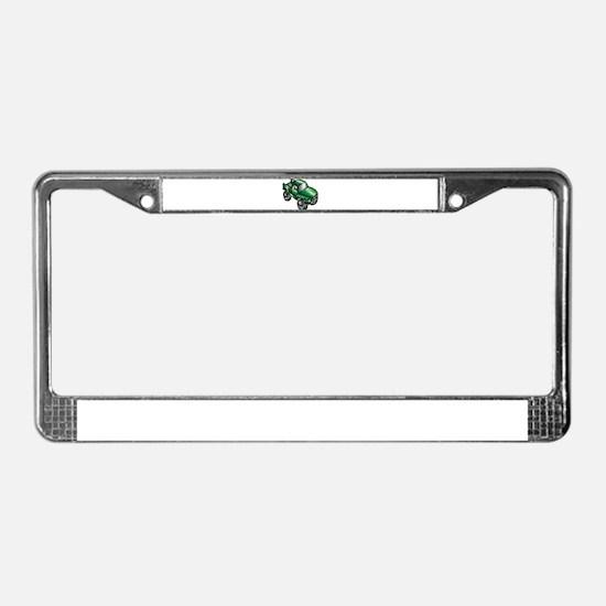 Cute Monster License Plate Frame