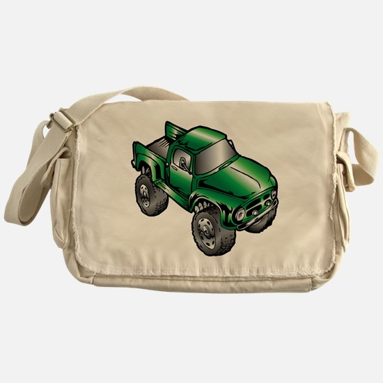 Unique Monster trucks Messenger Bag