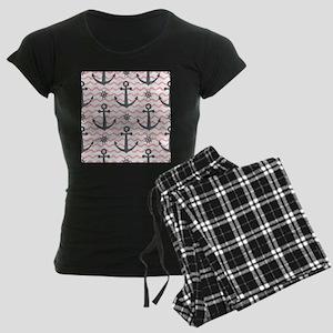 Anchors Women's Dark Pajamas