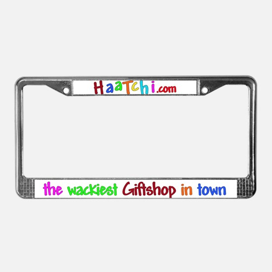 HaaTchi License Plate Frame