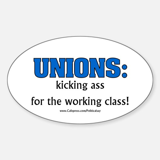 Union Class Oval Decal