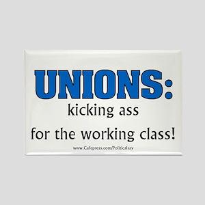 Union Class Rectangle Magnet