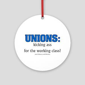 Union Class Ornament (Round)