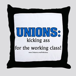 Union Class Throw Pillow