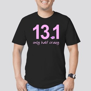 13.1 Only Half Crazy Men's Fitted T-Shirt (dark)