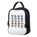 Next Best Step Neoprene Lunch Bag