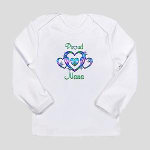 Proud Nana Long Sleeve Infant T-Shirt
