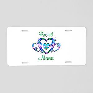 Proud Nana Aluminum License Plate