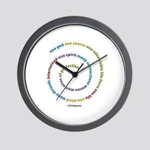 One Source Wall Clock