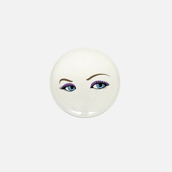 WOMANS EYES Mini Button