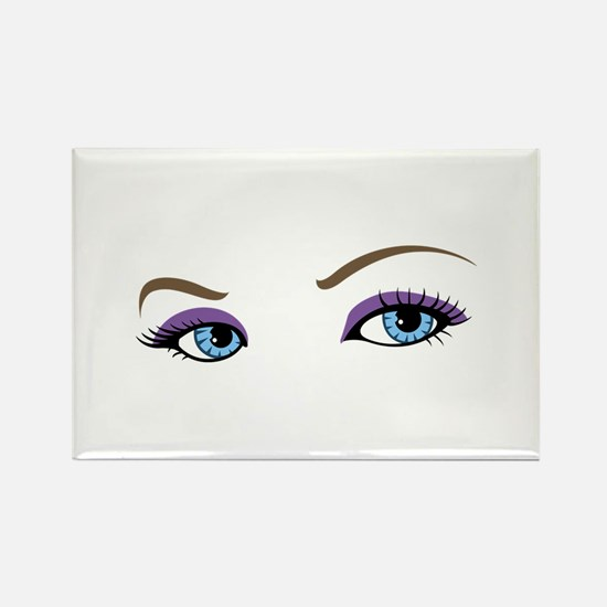 WOMANS EYES Magnets